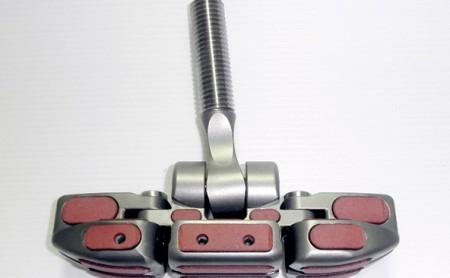Realizzazione di carrelli per stecche randa in meccanica di precisione e lega di Titanio
