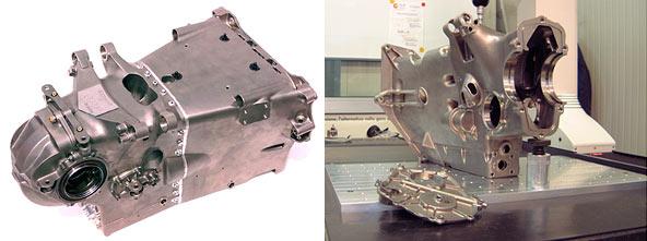 Minardi Titanium Rapid Casting Gearbox 2001