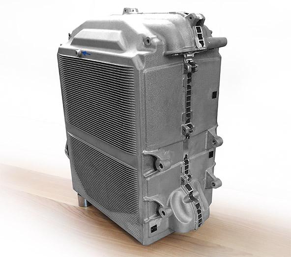 the CNC machined Aluminum rapid casting component
